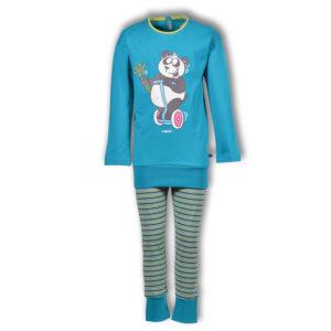Woody Meisjes pyjama turquoise productfoto