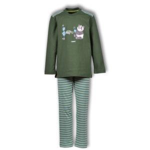 Woody Jongens pyjama donkergroen productfoto