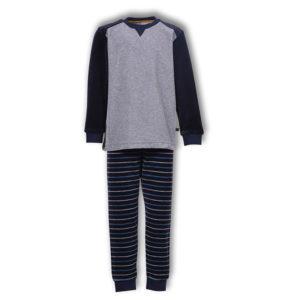 Woody Jongens pyjama donkerblauw productfoto
