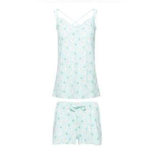charlie choe dames pyjama koraal