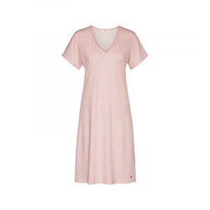830518-nachtkleedje korte mouw take it easy tropical pink_web
