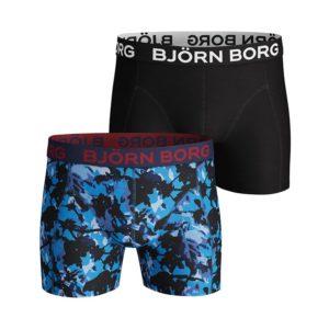 Boxer 2Pack 95% katoen 5% elastan bonnie blue