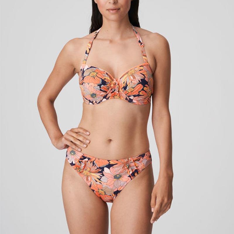 Prima Donna Swim Melanesia bikini bh balconnet mousse + rioslip Coral flower