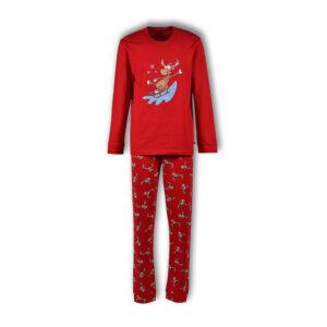 Woody Kerst Pyjama Unisex Heren