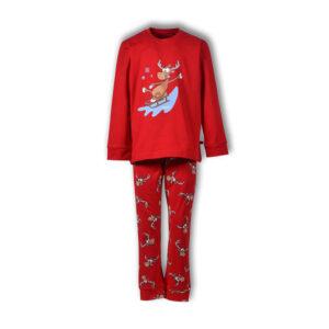 Woody Kerst Pyjama Unisex Jongens