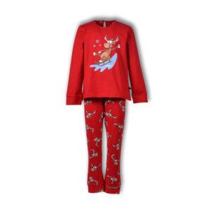 Woody Kerst Pyjama meisjes